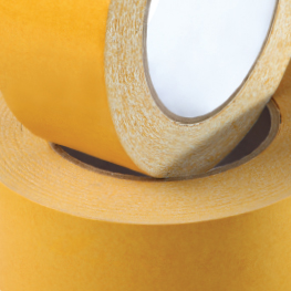 For the production of adhesive tapes, protective films and pressure sensitive materials